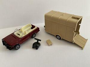 1982 Corgi James Bond E3019 Octopussy Range Rover & Horse Box (Acrostar Jet)