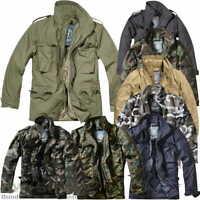 BRANDIT M65 FELDJACKE NEU 2in1 ARMY WINTERJACKE + FUTTER US PARKA OUTDOOR JACKE