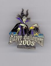 Disney Sleeping Beauty Maleficent & Diablo Glow in the Dark Halloween LE Pin