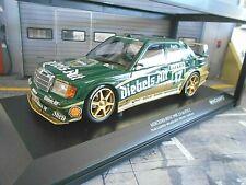 Mercedes Benz 190e 2.5-16v evo 2 DTM 1992 Zakspeed Diebels reunirá Minichamps 1:18
