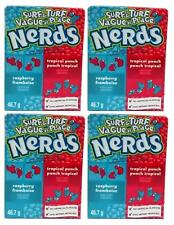 4x Nestle Surf & Turf Tropical Punch And Raspberry Nerds American Sweets 46.7g