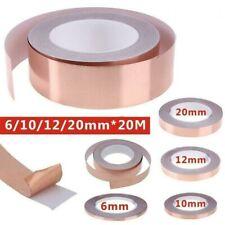 More details for copper tape slug snail repellent self adhesive tape barrier emi diy tool set