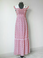 Vintage YOUNG INNOCENT by ARPEJA 70s Romantic Floral Hippy Prairie Maxi Dress