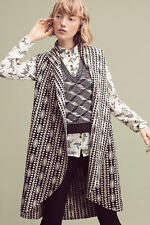 Anthropologie  Draped Jacquard Cardigan Sweater duster   NWT new size  S/XS