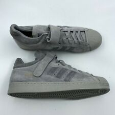 Adidas Mens Basketball Shoes Pro Shell 80s Gray 2017 Low Top Strap BZ0210 13 New