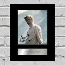Michael Caine Signed Mounted Photo Display The Italian Job