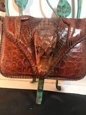 Alligator Vintage Head-feet Bag Ladies Purse 1950?