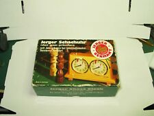 Jerger Schachuhr Chess Clock Olympia King Time in OVP einwandfrei
