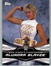 2016 WWE Divas Revolution Women's Championship #1 Alundra Blayze