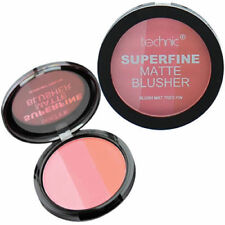 Technic Superfine Matte Blusher Trio - Powder Blush Cheeks Pink #26701