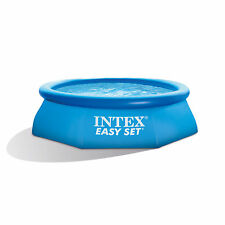 "Intex 8' x 30"" Easy Set Swimming Pool & 330 GPH GFCI Filter Pump 