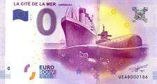 50 CHERBOURG Titanic et Redoutable, N° de la 2ème, 2017, Billet 0 € Souvenir