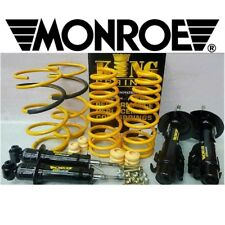 HOLDEN COMMODORE VX KING SPRINGS & MONROE GT SPORTS LOWERING KIT