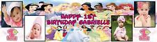 Large Disney Princess Birthday Banner Personalised to your desires - just ask?