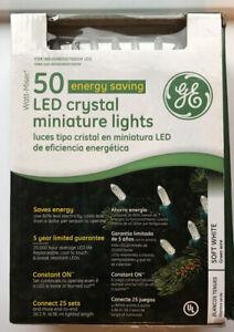Watt-Miser 50 Energy Saving LED Crystal Miniature Lights Indoor Outdoor, NEW!