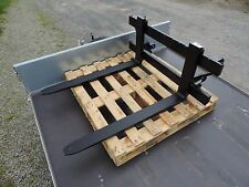 HEAVY DUTY PALLET FORKS WITH EURO BRACKETS. NEW. FREE DELIVERY TO UK MAINLAND