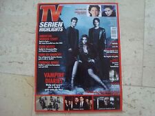 VAMPIRE DIARIES cover magazine Ian Somerhalder ONCE UPON A TIME Ginnifer Goodwin