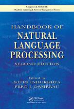 Handbook of Natural Language Processing by Taylor & Francis Ltd (Hardback, 2010)