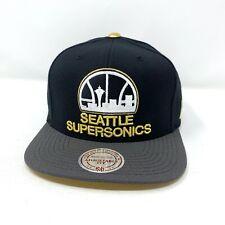 Seattle Supersonics Mitchell & Ness Snapback Hat E7