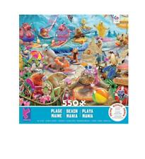 STORY MANIA - BEACH COLLAGE - 550 PIECE JIGSAW PUZZLE - BRAND NEW - 2441-1