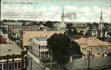 BATON ROUGE LA Bird's Eye View c1910 Postcard