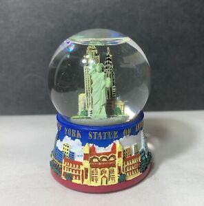 New York City Snow Globe Skylines & Statue of liberty