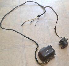 1961-1963 Ford Thunderbird Starter Relay, Voltage Regulator & Generator Wiring