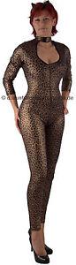 """Heiss * Kostüm Bodysuit """"Lady Leopard"""" – 2 teilig, Gr. 34-36"""