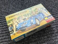 MONOGRAM VINTAGE 1/32nd Scale NOS COOPER FORD MODEL KIT  MIB 1964 for SLOT CAR