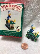 🎄Vintage 1998 Hallmark Donald Passenger Car Donald Duck Merry Disney Train 🚂