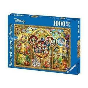 Ravensburger Disney Best Themes Puzzle 1000 Piece Jigsaw Puzzle
