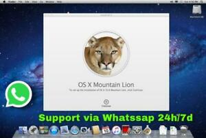 Mac OS X Mountain Lion 10.8 Install ISO&DMG with Permanent Support Via Whatssp