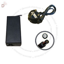 New AC Charger For Compaq spare 463955-001 6735b 19V PSU + 3 PIN Power Cord UKDC
