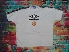 S28 Vintage Manchester United 1990's Football Shirt Jersey XL