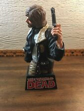 Priority Shipping Walking Dead Rick Grimes Vinyl Bust Bank Diamond