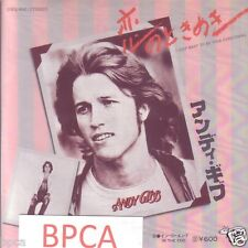 """MINT 7"""" JAPAN ANDY GIBB I JUST WANT TO BE YOUR EVERYTHING BEE GEES SONG"""