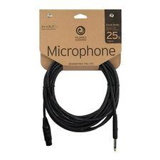 D'Addario PW-CMIC-25 Classic Series 25' Microphone Lead - XLR/Jack