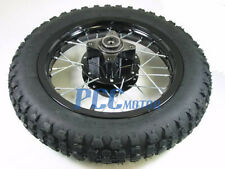 "12"" REAR RIM WHEEL TIRE DISC BRAKE PIT BIKE SDG COOLSTER 107 110 125cc I WM09K"