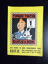 Grand point Timbre Tintin Kuifje's Bon
