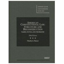 American Constitutional Law : Structure and Reconstruction 5th Edition Shanor