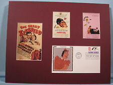 The Great Ziegfeld with Fanny Brice aka Funny Girl and her First Day Cover