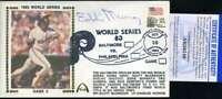 Eddie Murray PSA DNA Coa Autograph Hand Signed 1983 World Series FDC Cache