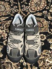 Giro Reva Size US9.75 Woman Tan Cycling Shoes