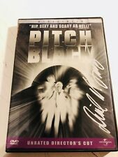 Pitch Black Dvd (case) signed autographed by David Twohy