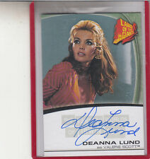 THE FANTASY WORLDS OF IRWIN ALLEN DEANNA LUND LAND OF THE GIANTS AUTOGRAPH AUTO
