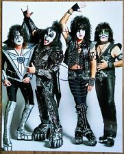 GENE SIMMONS AUTOGRAPHED KISS 8x10 PHOTO - END OF THE ROAD TOUR