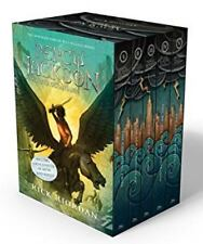 Percy Jackson and the Olympians Hardcover Boxed Set Riordan, Rick VeryGood