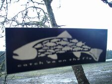 Orvis Authentic (not a fake reprint) catch'em all fly fishing sticker