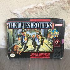 The Blues Brothers Super NES Nintendo SNES US en Boite SNSP-B6-USA NTSC Tested