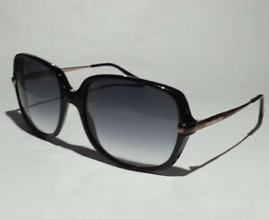 Giorgio Armani GA 911/S Women Sunglasses Black Rectangular Made in ITALY